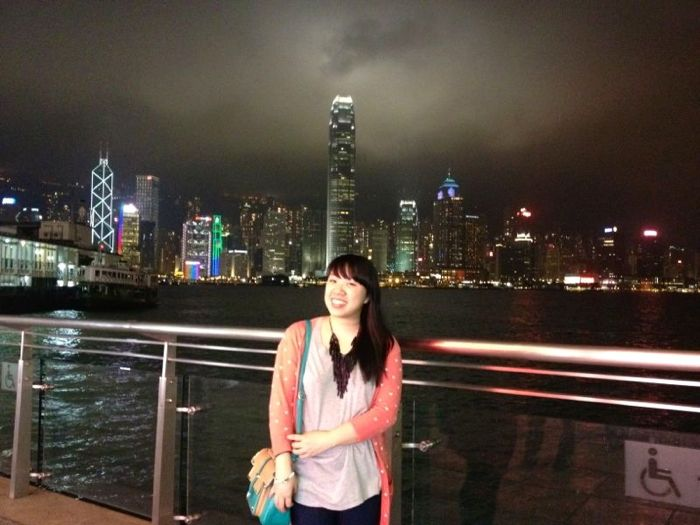 Me and HK
