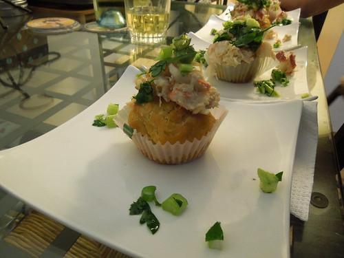 cupcake dinner - lobster roll cupcake (17) by visual ekphrases