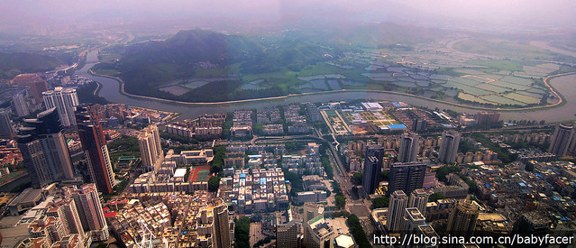 Landscape from Shenzhen Kingkey 100