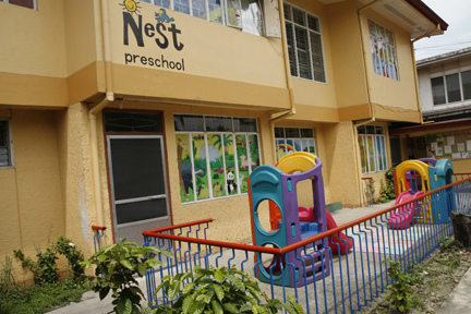 Nest School Building - old