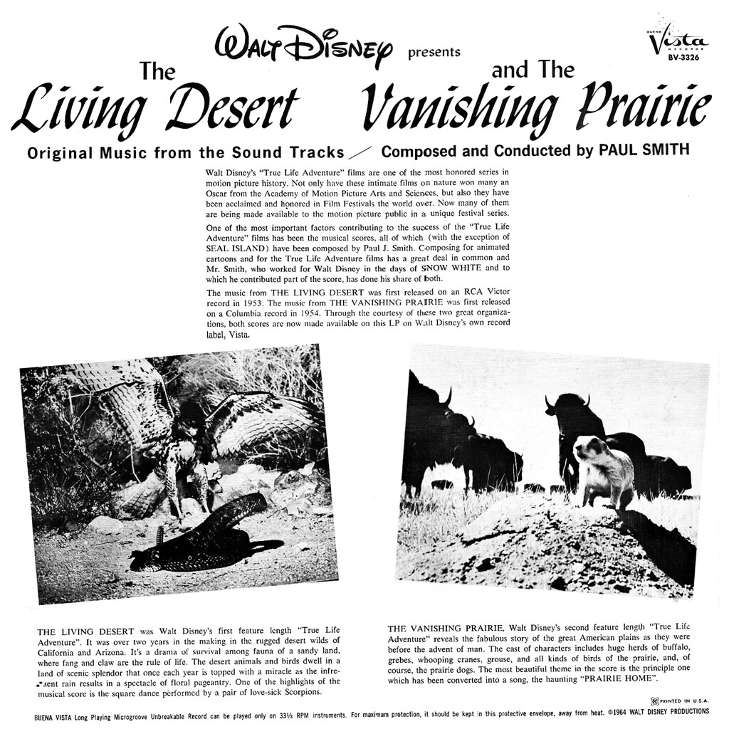 Paul J. Smith - The Living Desert / The Vanishing Prairie