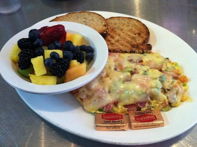 Ham scrambler - Toast Eatery