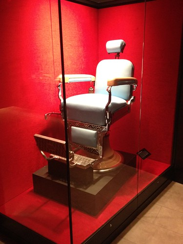 The Barber Chair of Albert Anastasia's murder at the Mob Museum