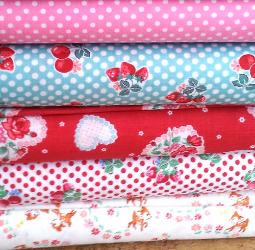 Lecien fabrics giveaway at Very Berry Handmade
