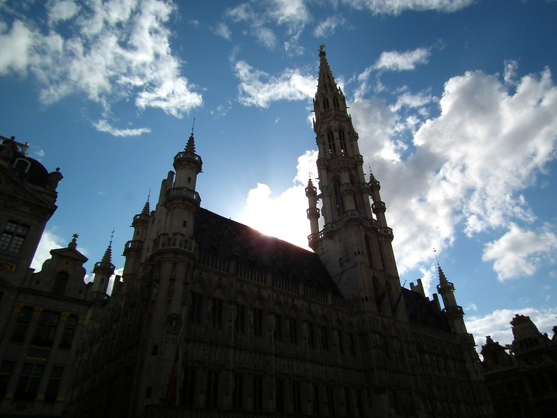 Town Hall_Grand Place - Brussels, Belgium