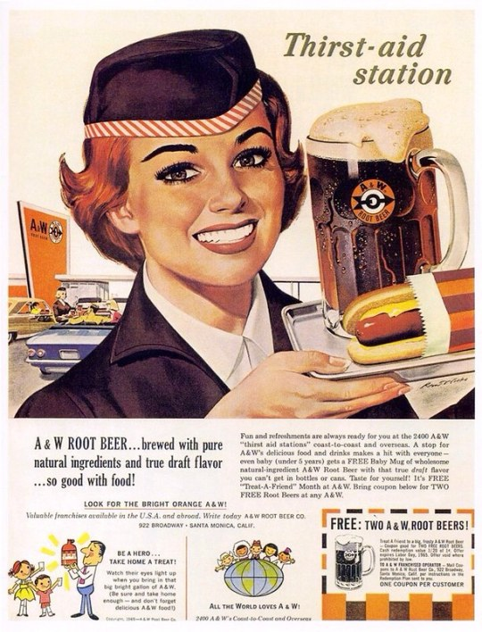 A and W Root Beer Co. - 1965