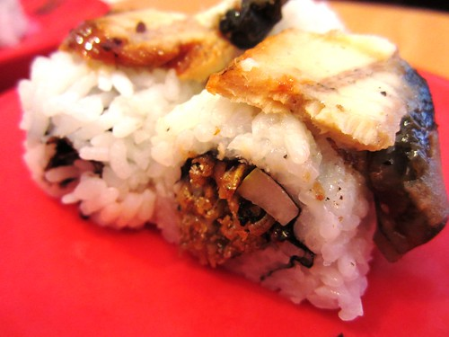 Unagi baby fish sushi