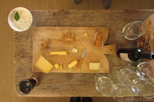 cheese destruction