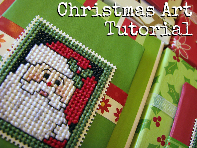 Christmas Art Tutorial