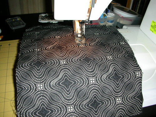 Quilting a grid