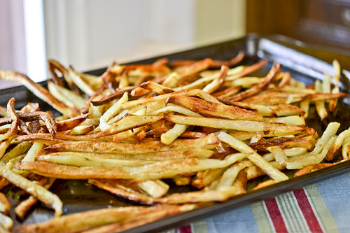 Garlic Fries 8