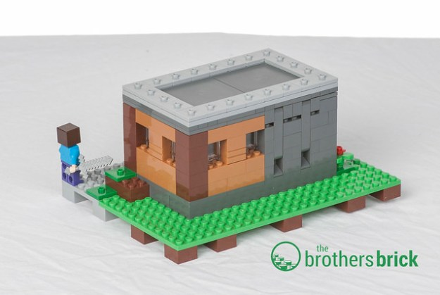 Lego Minecraft 21128 The Village Review The Brothers Brick The