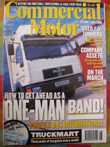 Commercial Motor MAN