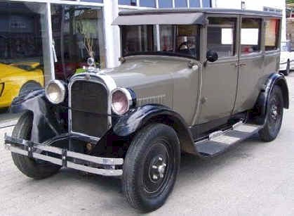 1926 Dodge Sedan