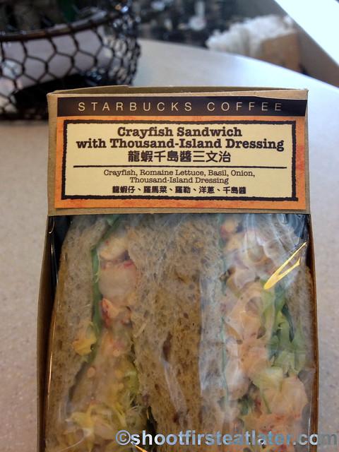 Starbucks HK crayfish sandwich with thousand island dressing-001