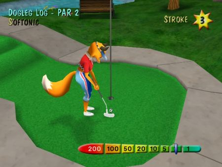 Juego de golf gratis
