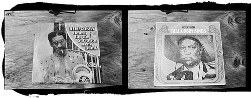 bill cosby on cardboard jello shots by Eddy Pula