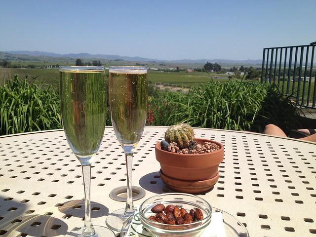 Brut rose & Sonoma brut late release - Gloria Ferrer Winery