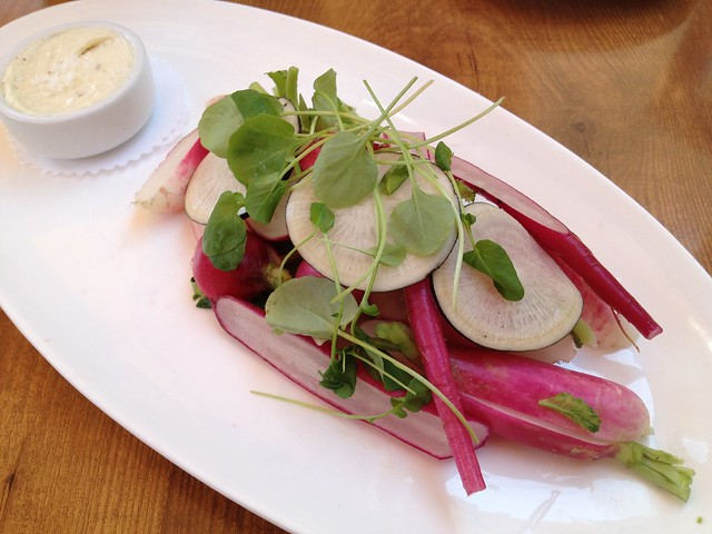 Heirloom radishes - The Girl & The Fig