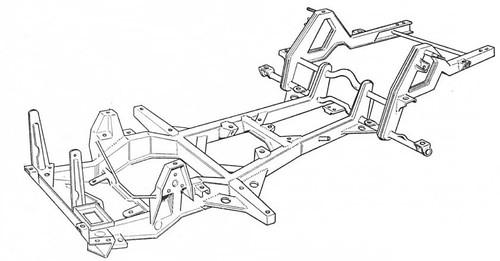 Honda S800 chassis