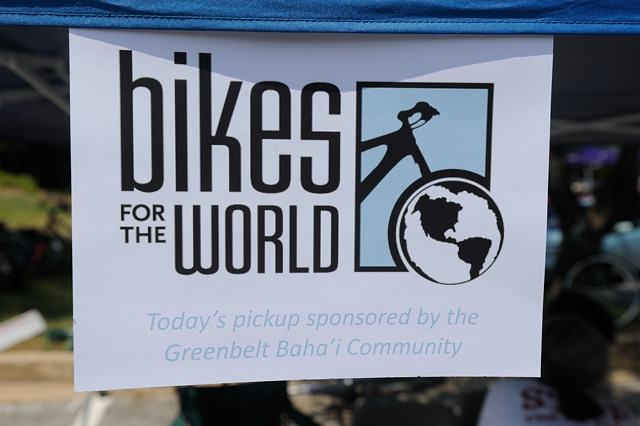 Bikes For The World Donation a bike donation event by