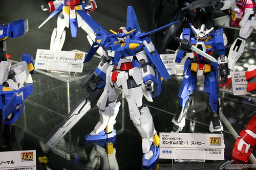 Upcoming Gundam AGE kits featured on Tokyo Internation Animer Fair 2012 (1)