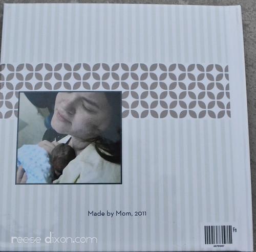 Atti's birth story Back cover