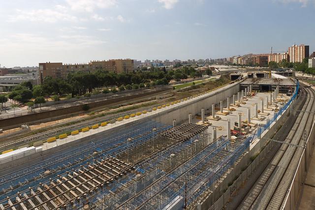 Nueva estación de Sant Andreu - 05-06-12