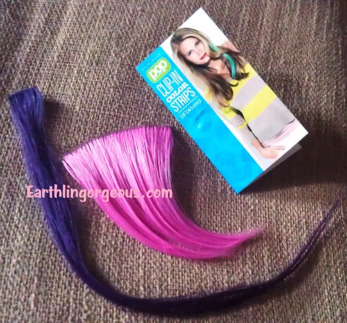 POP Hair U Wear Clip-In Color Hair Strips