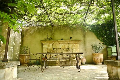 hidden terrace