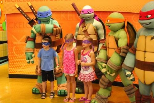 Teenage Mutant Ninja Turtles at Nick Hotel