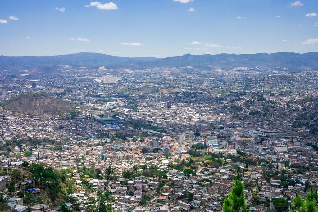 Tegucigalpa, Honduras in Parque Naciones Unidas El Picacho