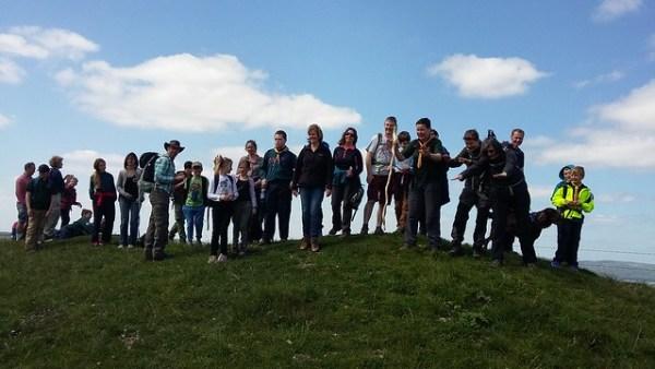 JOTT Hike, Burpham 14 May 2016