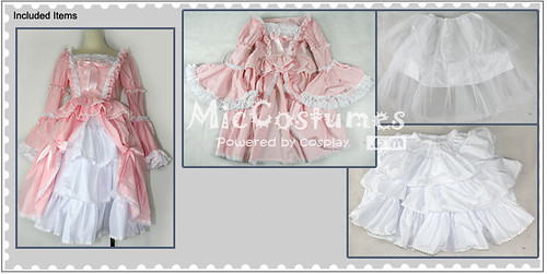 Bell Sleeves Sweet Lolita Cosplay Dress