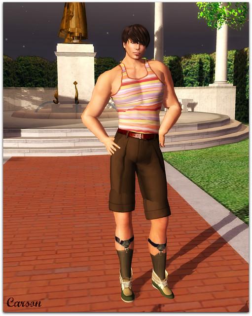 Hell Bop Clothing - Kenny Shirt, Tucker Shorts Suspender Socks