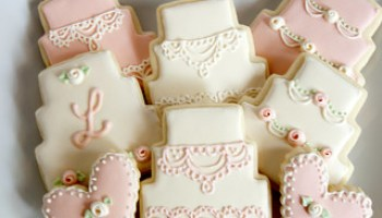 Elizabeth Nates Wedding Cookies