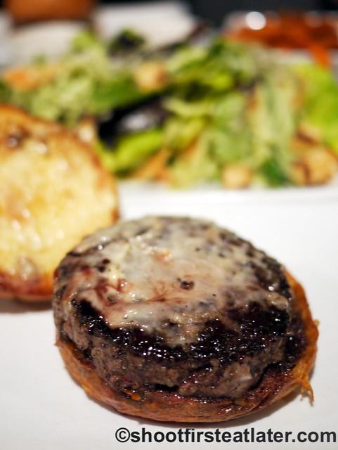 Umami Burger- truffle burger $12-001