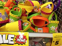 Easter Egg Baskets, Spotlight, Plaza Singapura