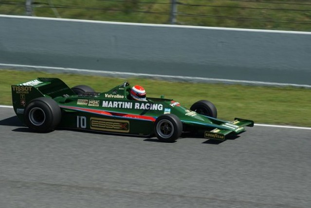Lotus 80 - 1979 (Mario Andretti)   Formula 1  Esperit de Montjuïc 2012