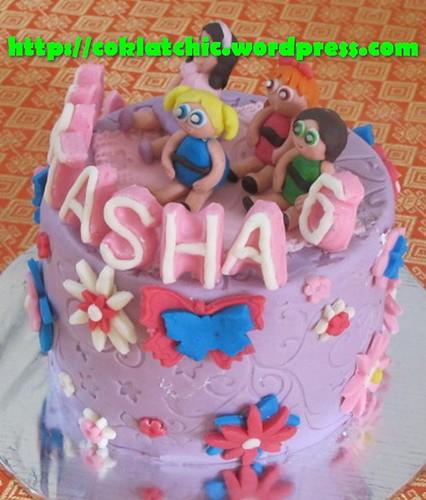 Cake Powerpuff Girl