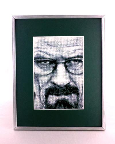 Heisenberg (framed)