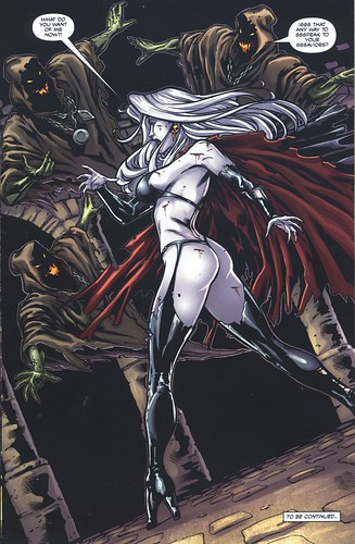 Lady Death in Limbo.