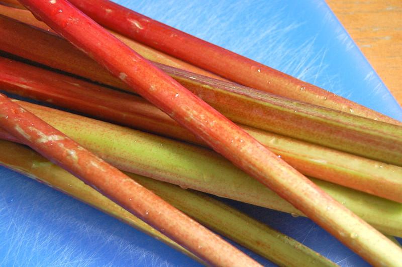 Rhubarb Stalks