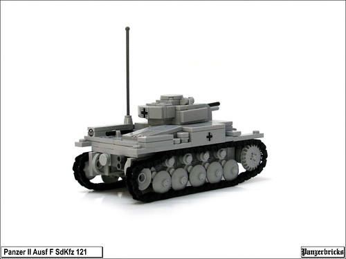 Panzer II Ausf F de Panzerbricks