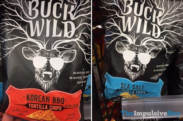 Buck Wild Tortilla Chips (Korean BBQ and Sea Salt)