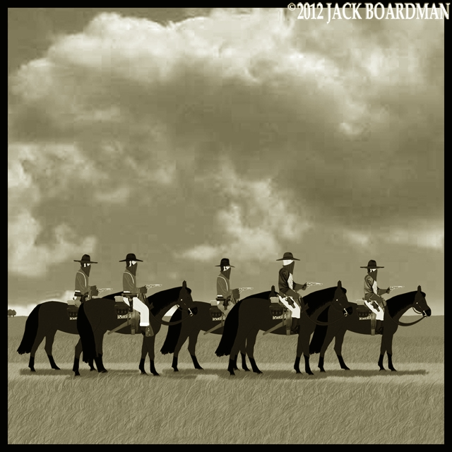 Outlaws on the road ©2012 Jack Boardman