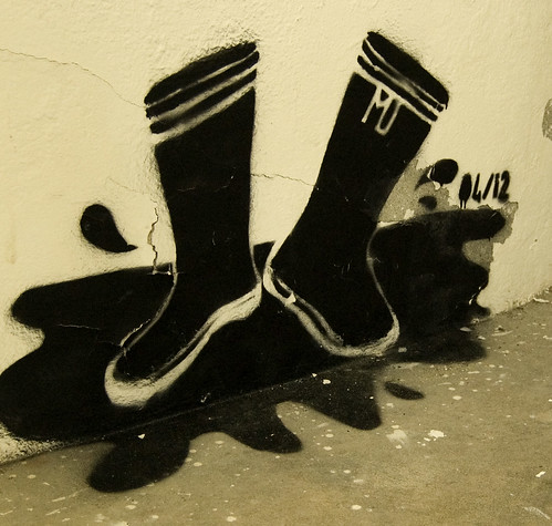 Rainboots Graffiti