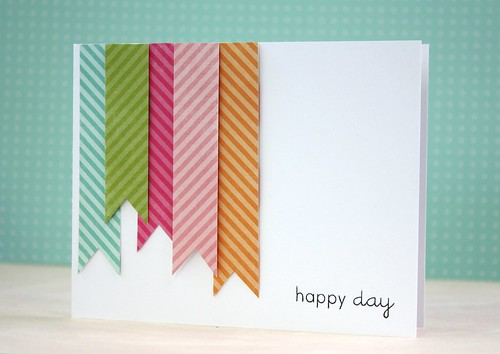 Make It Monday #65: Background Patterns From Patterned Paper Scraps by L. Bassen