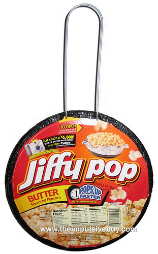 Review Jiffy Pop Stove Top Butter Popcorn The Impulsive Buy