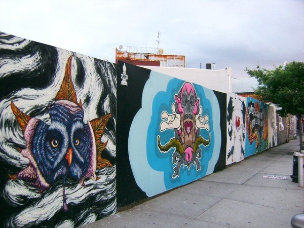 A mural I painted for BOS 2012